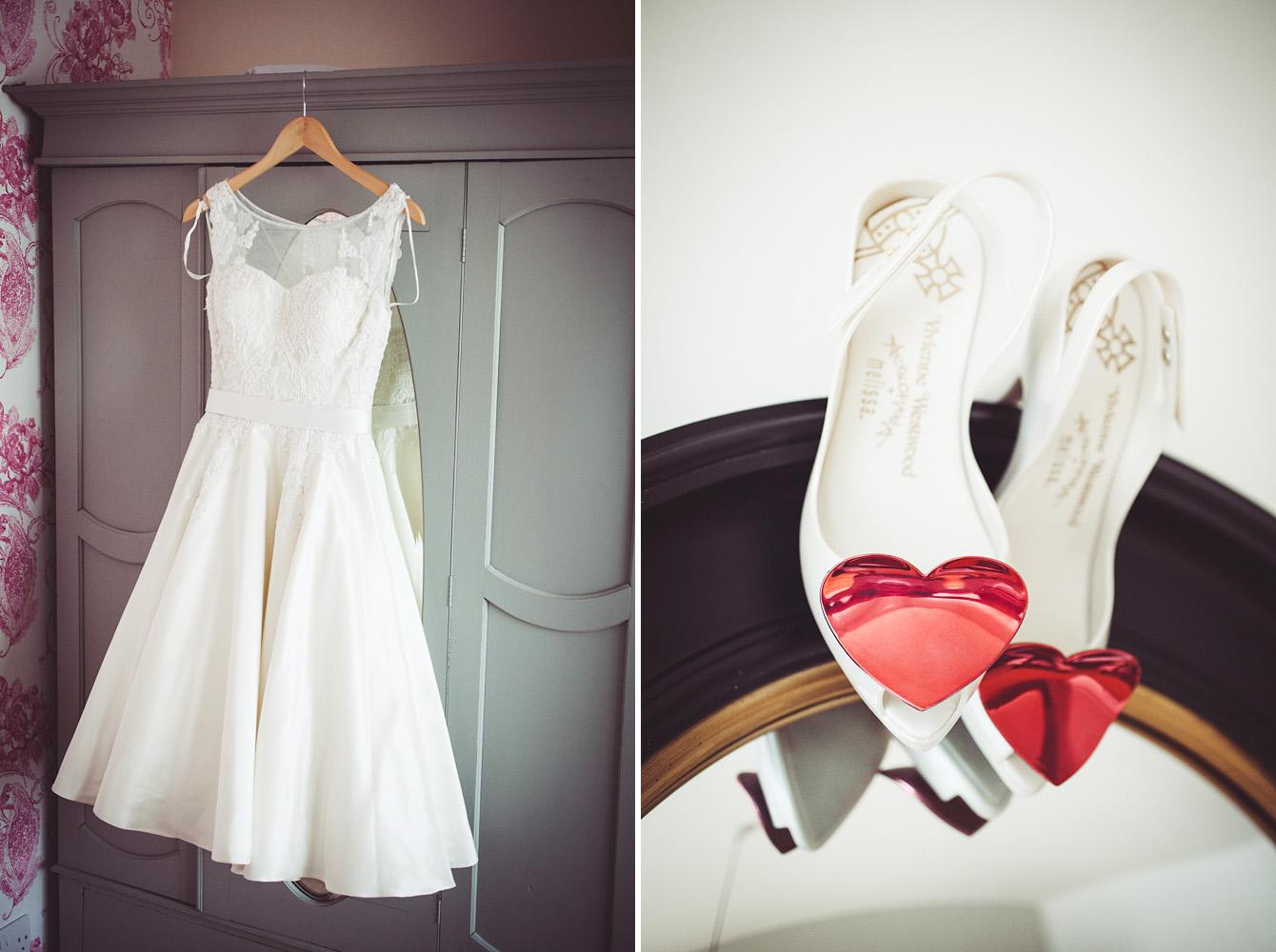 Fairy Goth Mother wedding dress