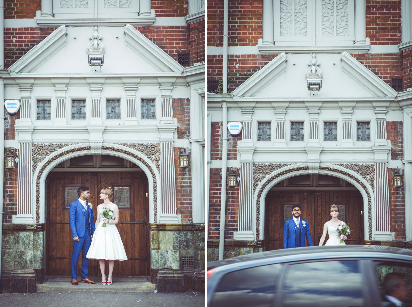 Alternative wedding photography at Paradise by Way of Kensal Green