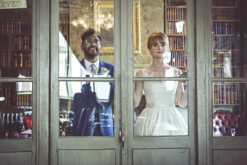 Alternative wedding portraits
