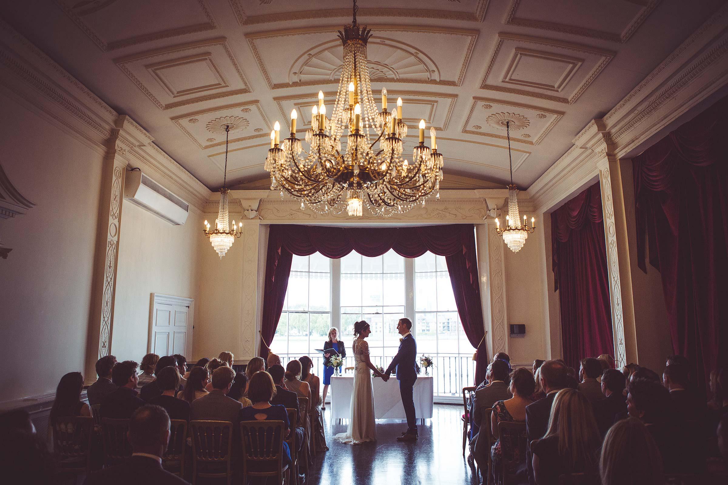 Alliea and Dan's wedding at The Trafalgar Tavern, Greenwich