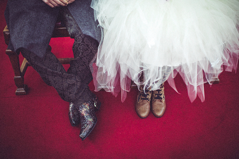 Laura and jack's Steam Punk Wedding in Islington