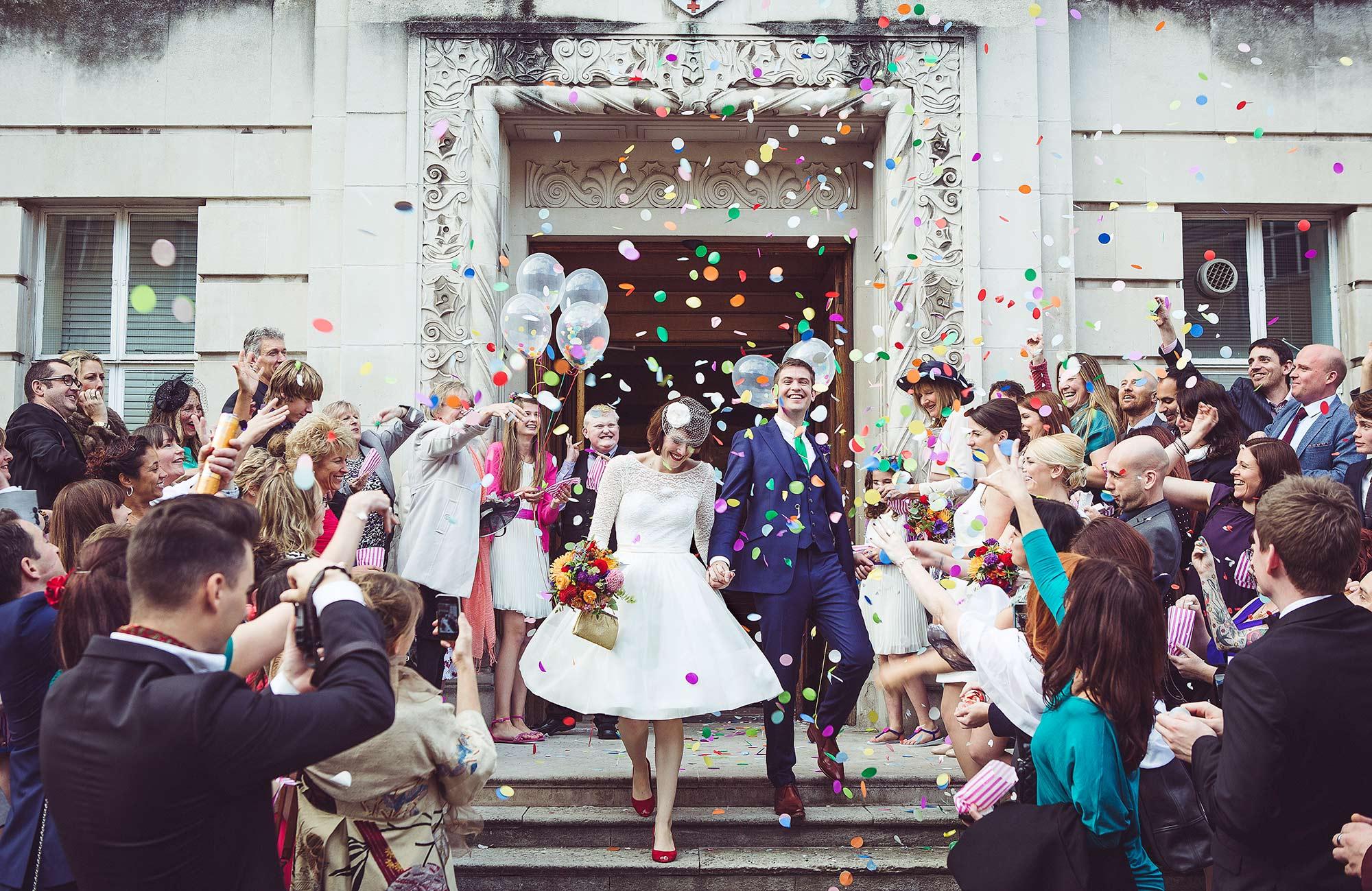 Wedding Photography at Wandsworth Town Hall