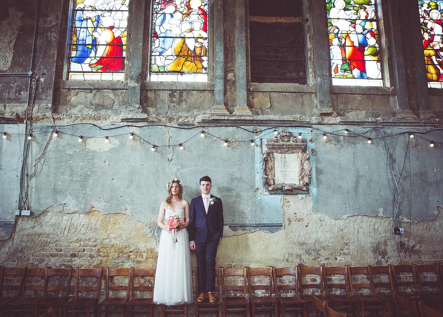 Wedding Photography at The Asylum , Peckham, London