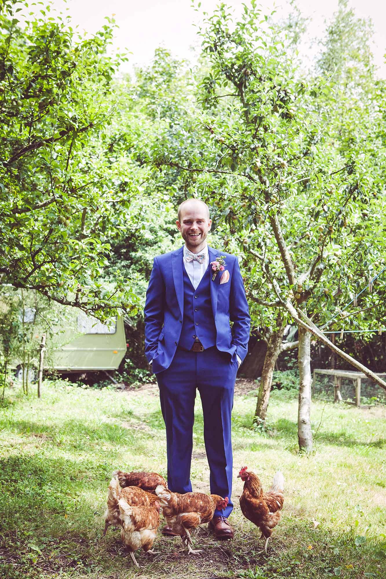 Portrait of Alex the groom