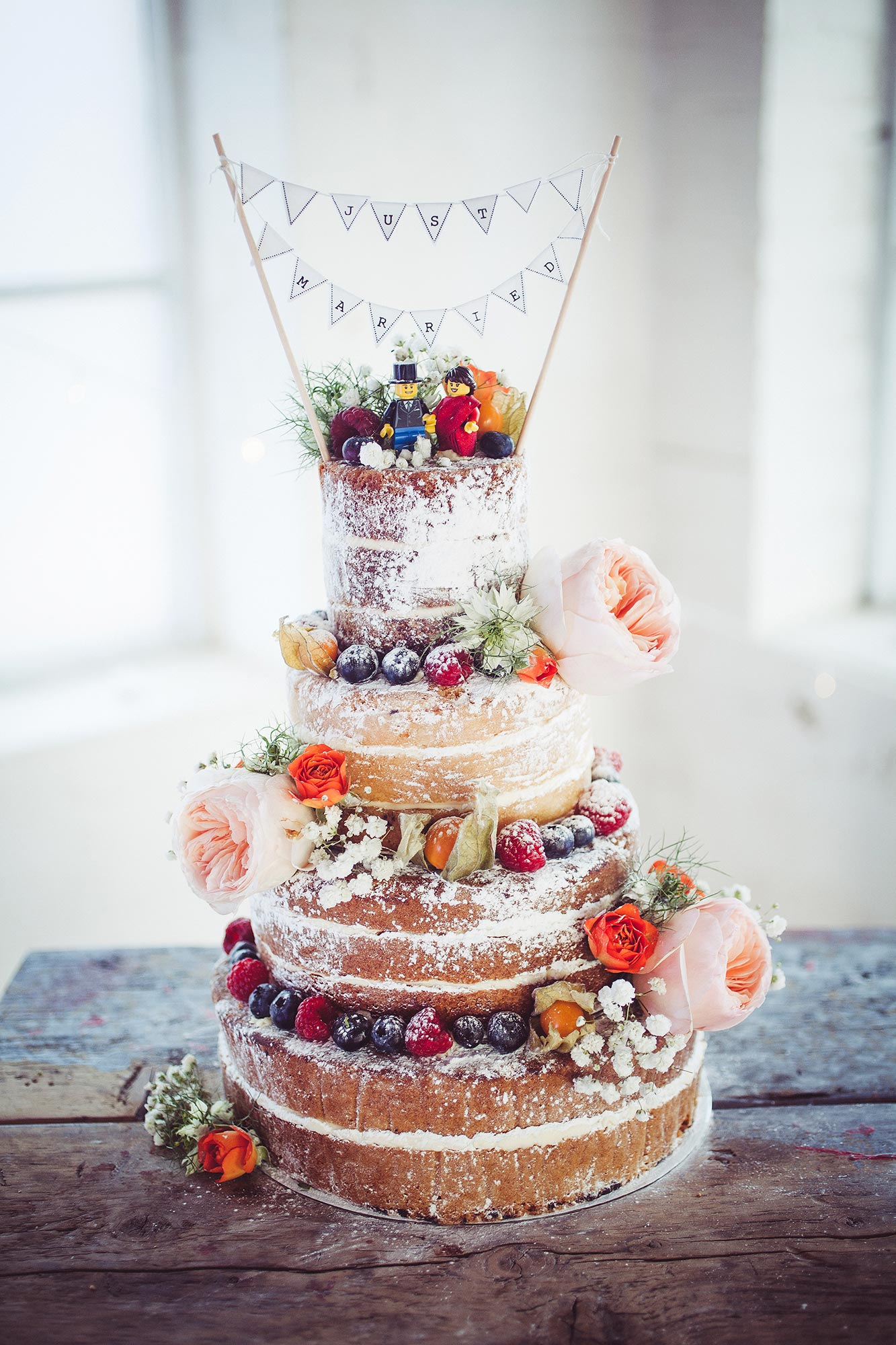 Wedding cake at One Friendly Place