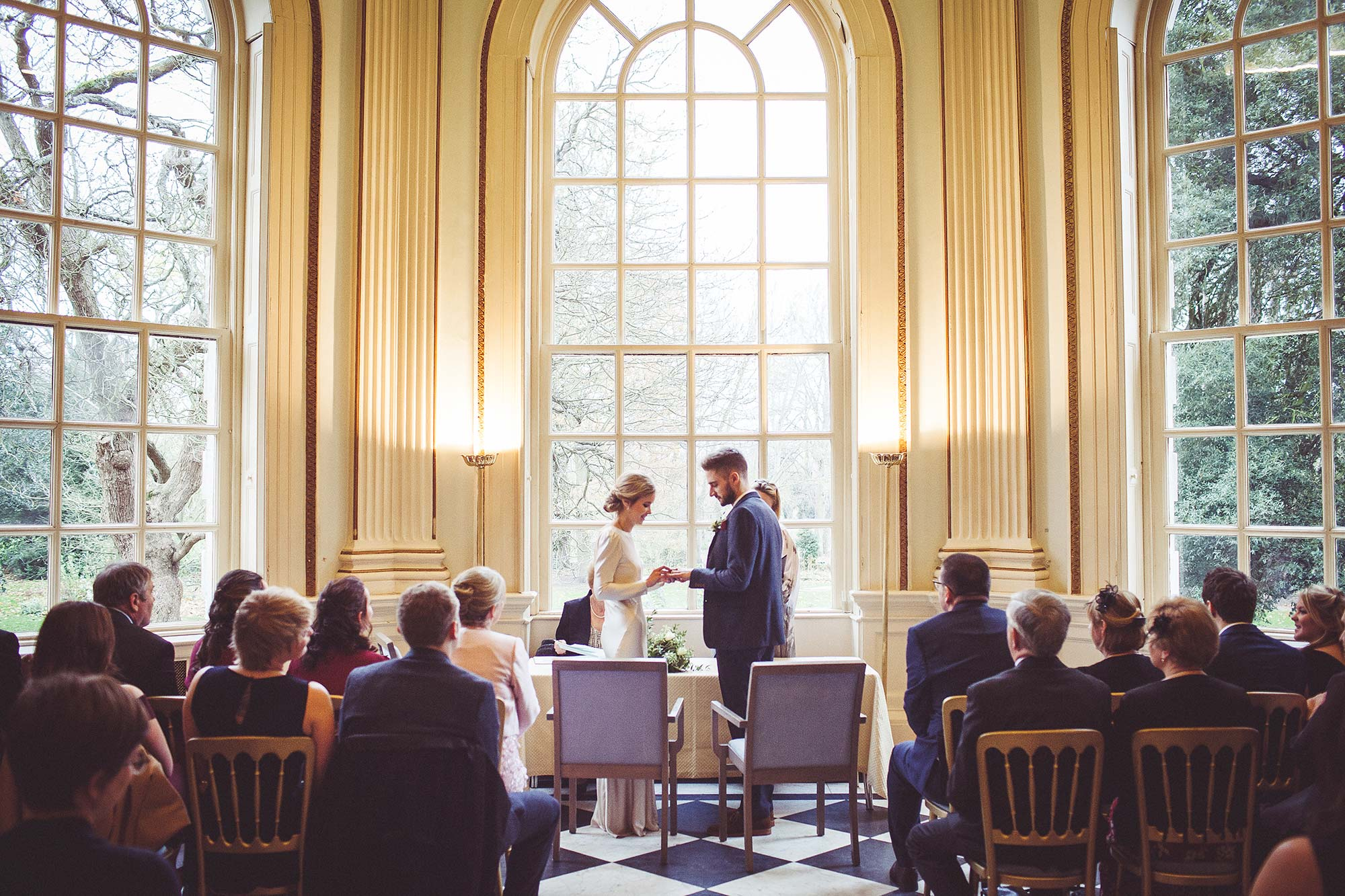 Wedding Ceremony at Orleans House Gallery