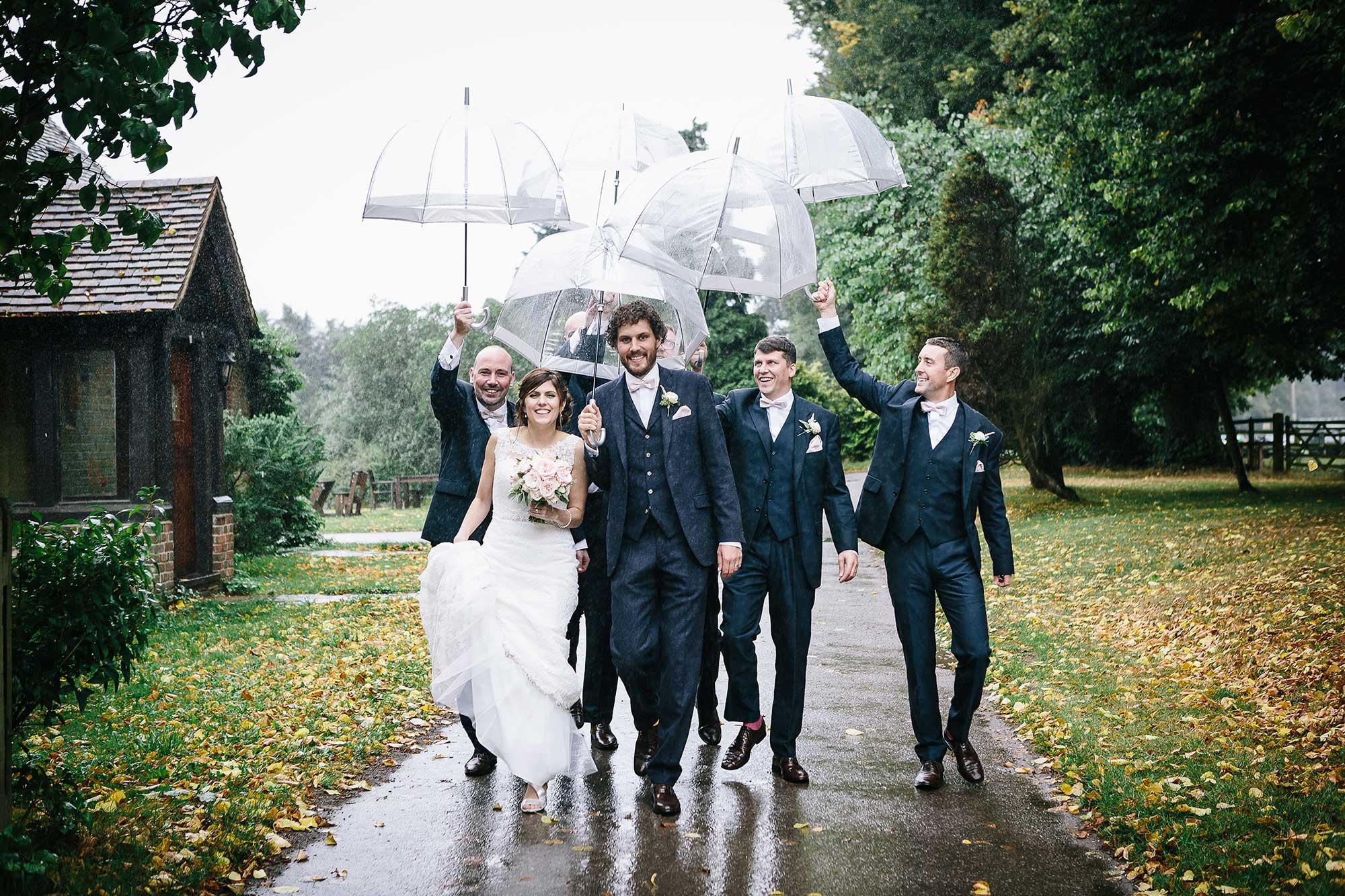 Rhea and Doms wedding at Herons farm