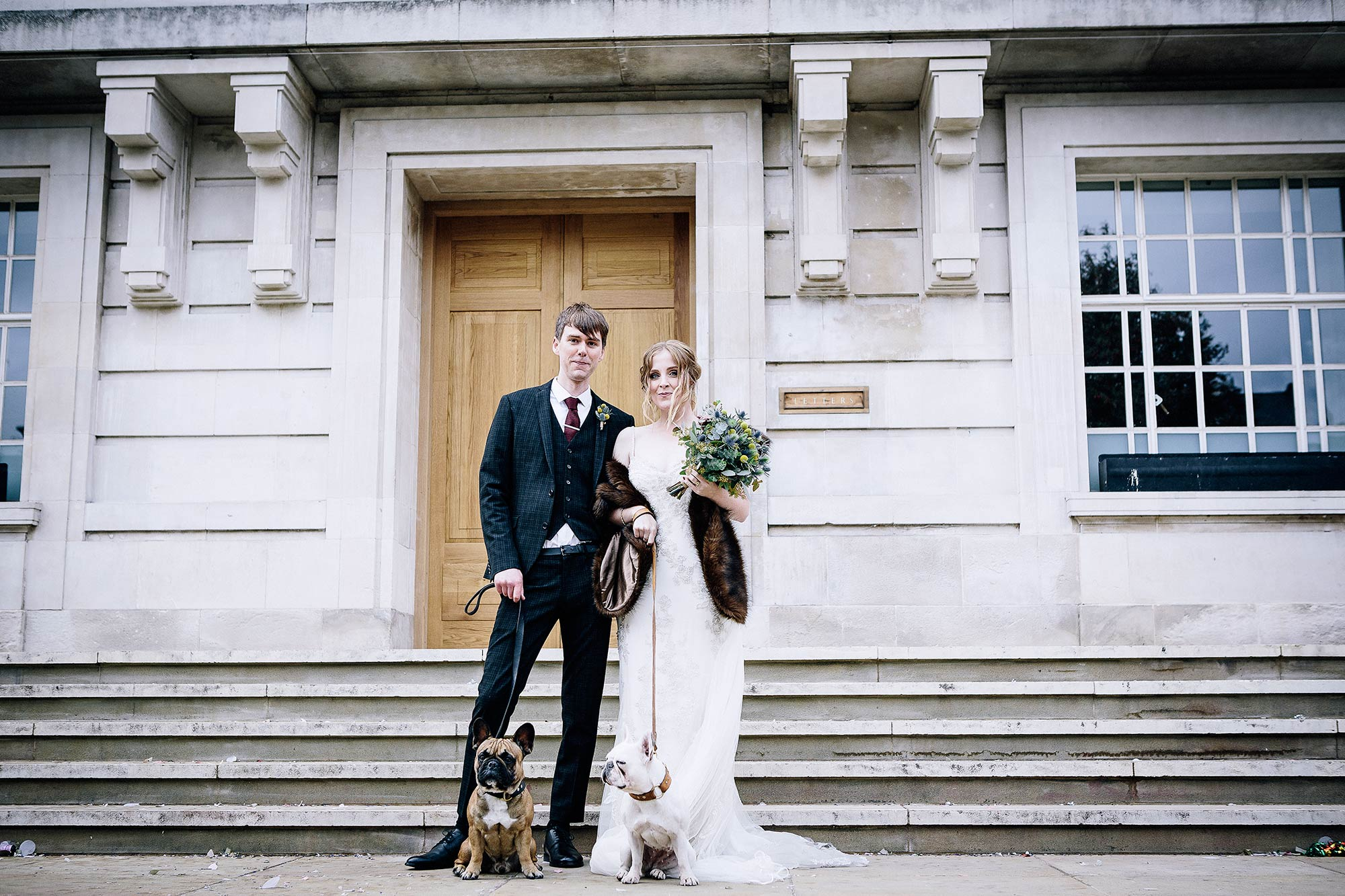 Else and Peter's wedding at Hackney Town Hall