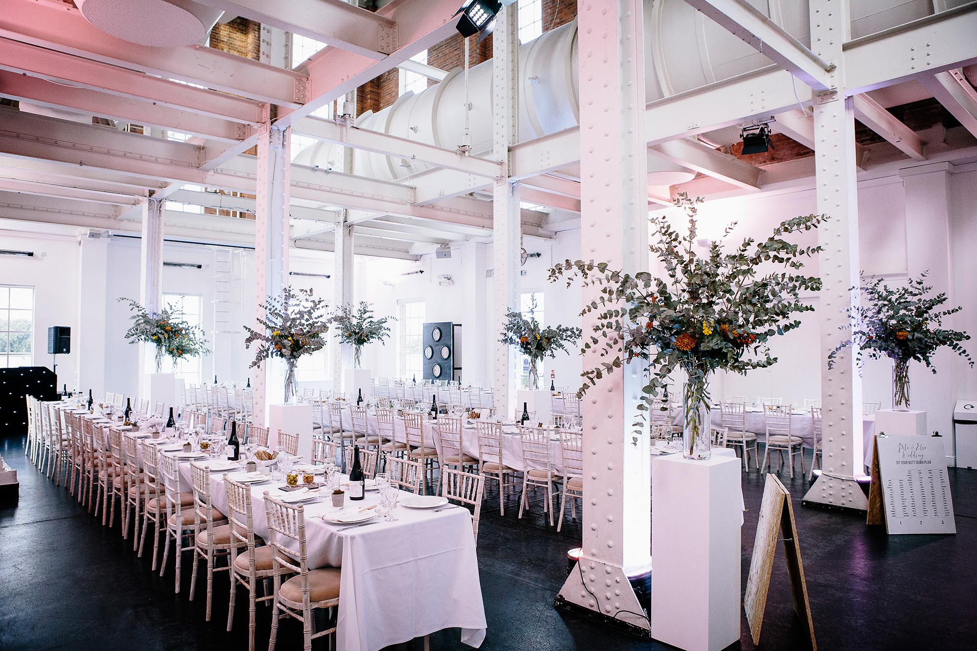 Wedding Reception at West Reservoir Centre, London