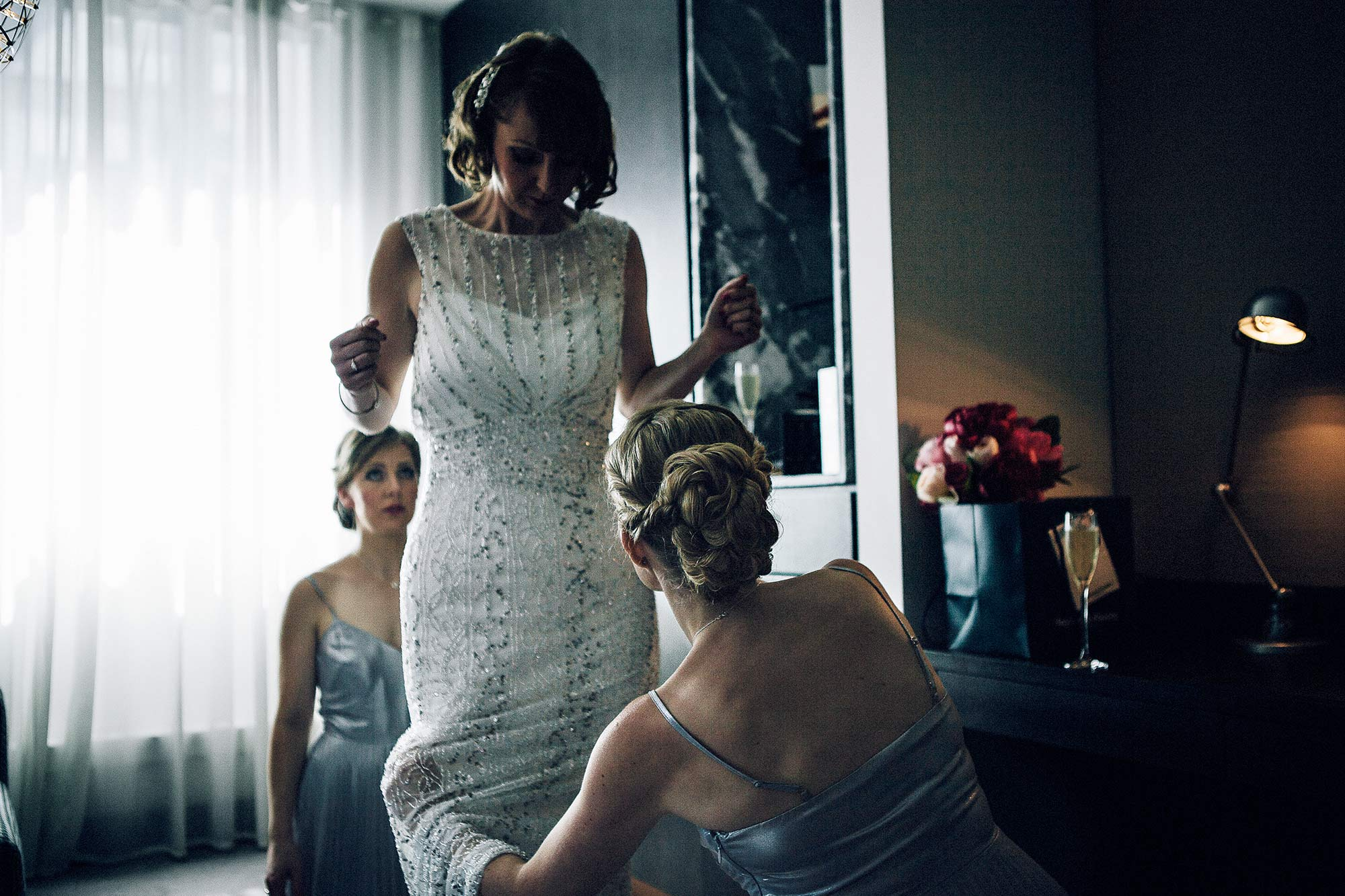 Wedding at South Place Hotel, London