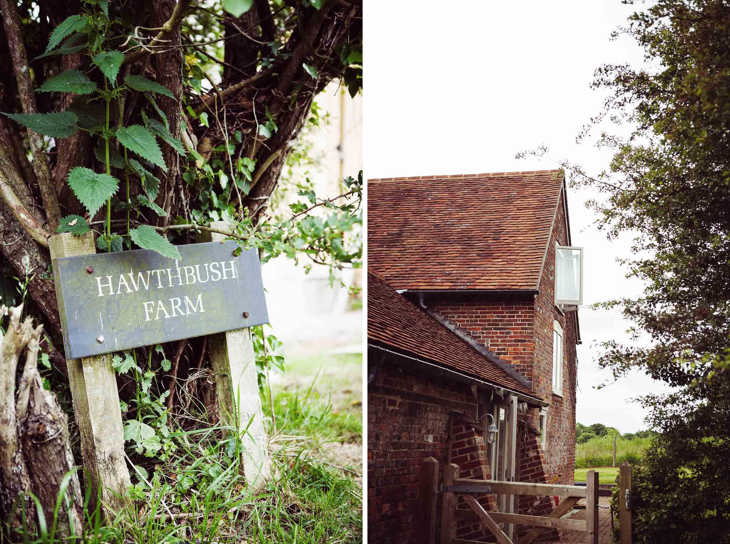 Sussex Wedding at Hawthbush Farm 1