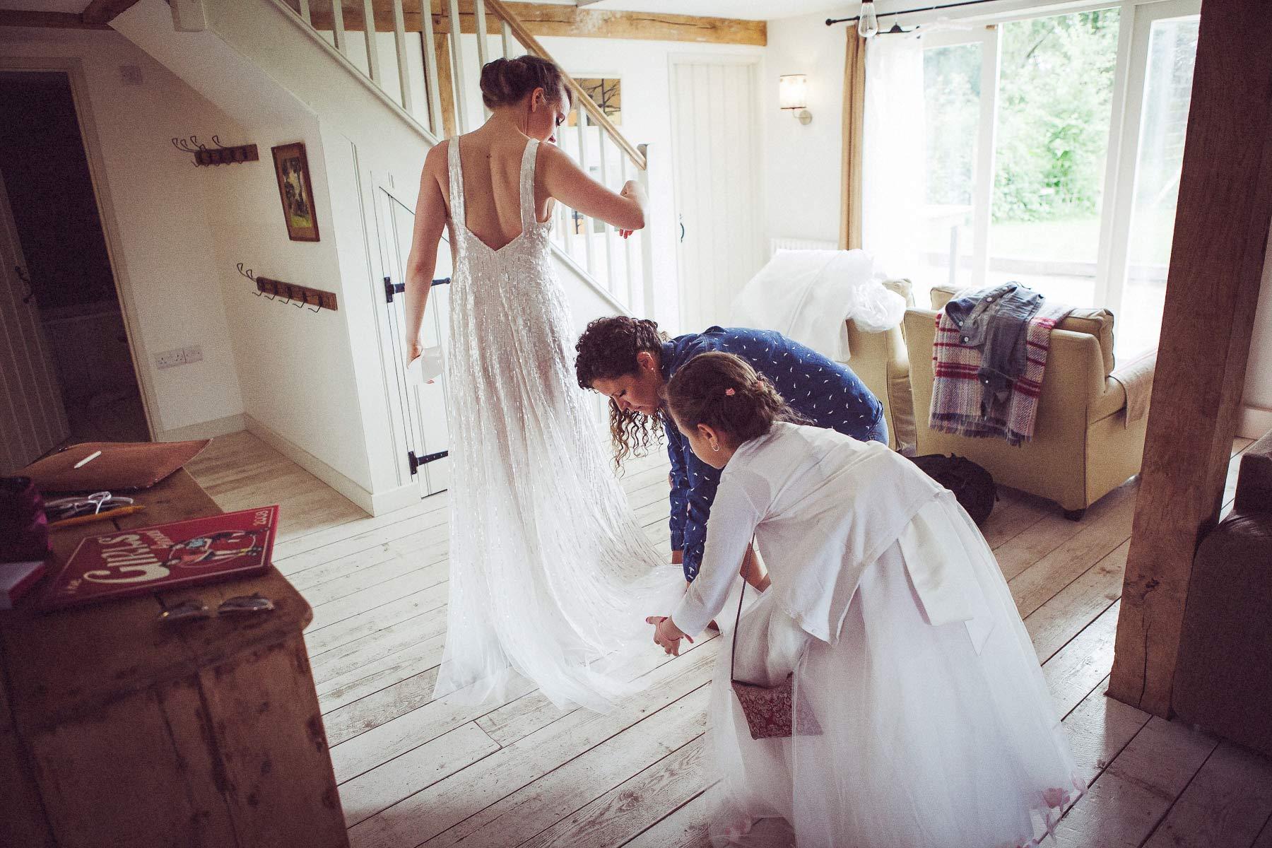 Sussex Wedding at Hawthbush Farm 9