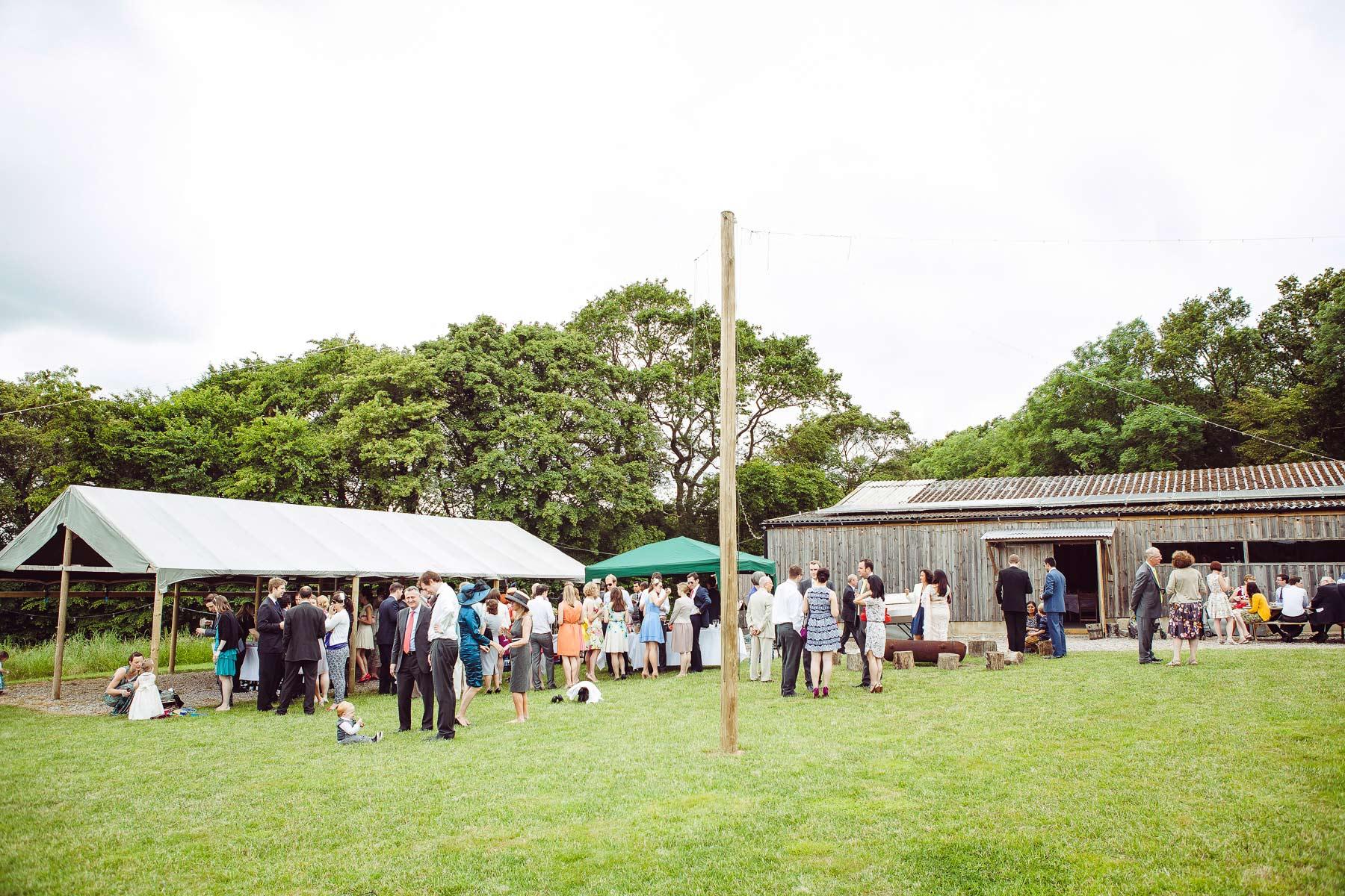 Sussex Wedding at Hawthbush Farm 42
