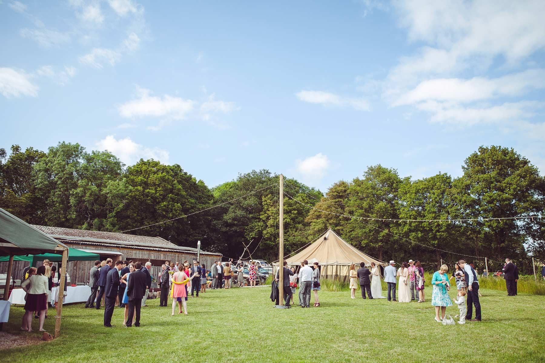 Sussex Wedding at Hawthbush Farm 68