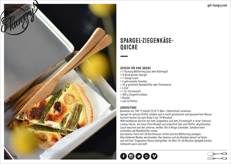Unsere Lunchstrecke wurde exklusiv für ein Business Special produziert und in der Cosmopolitan 05/15 veröffentlicht.