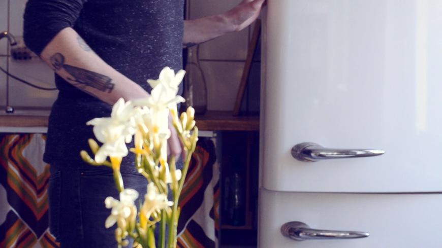 verschlossen im Kühlschrank parken