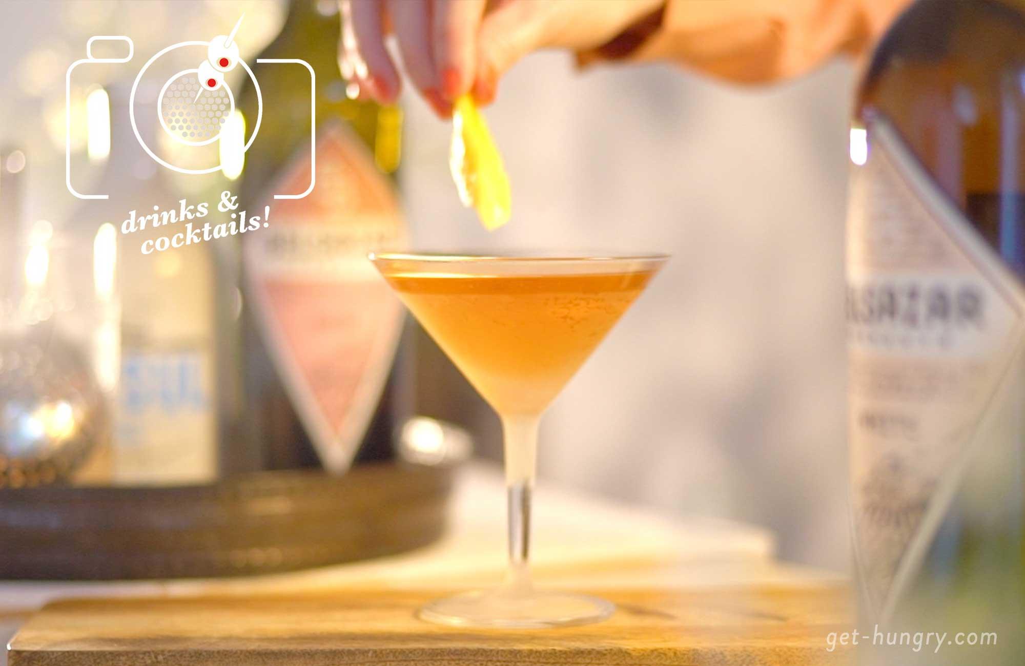 Pink Martini mit Belsazar Vermouth Rosé