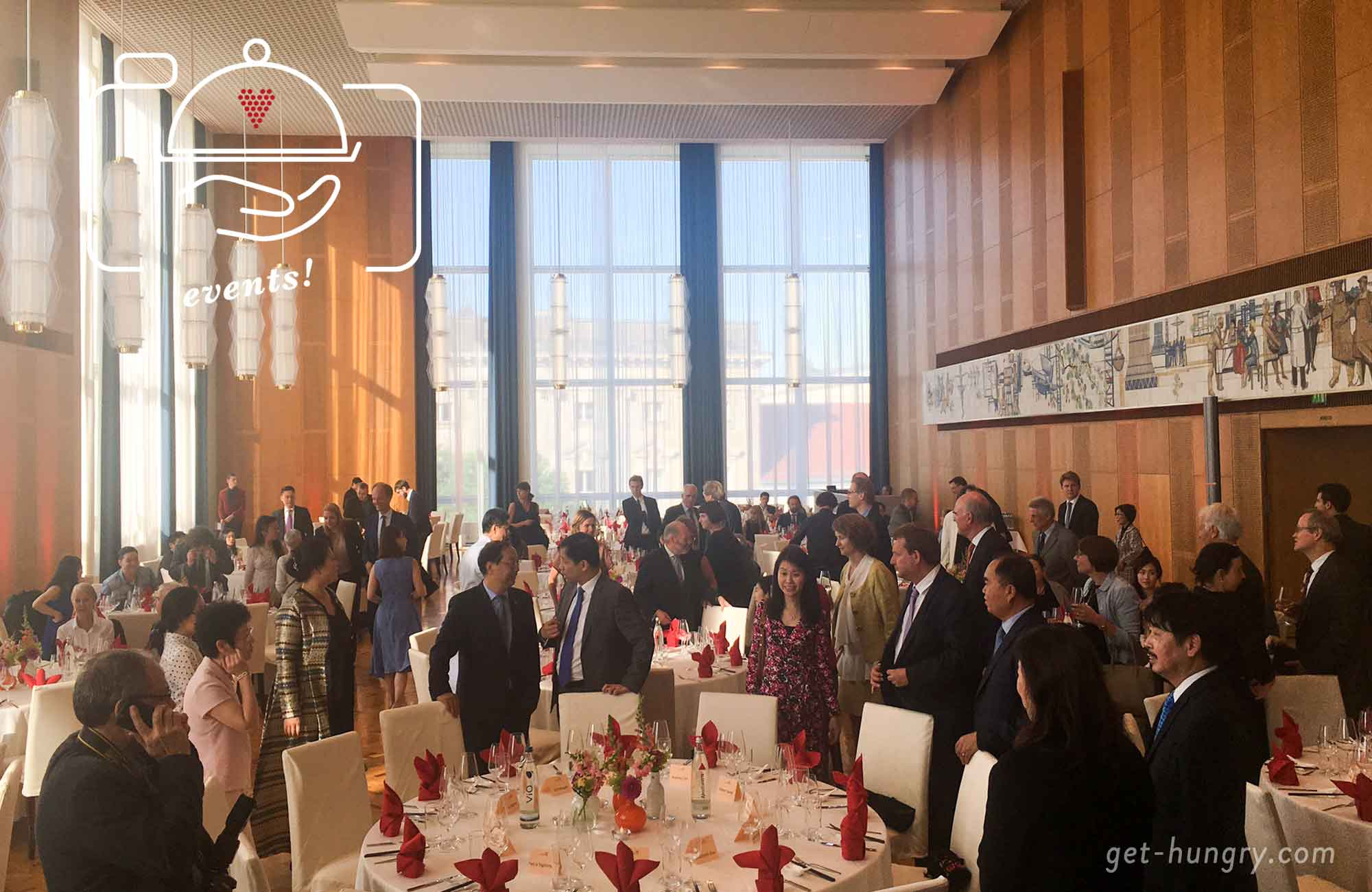 20 Jahre Hongkong China - Galadinner in Berlin
