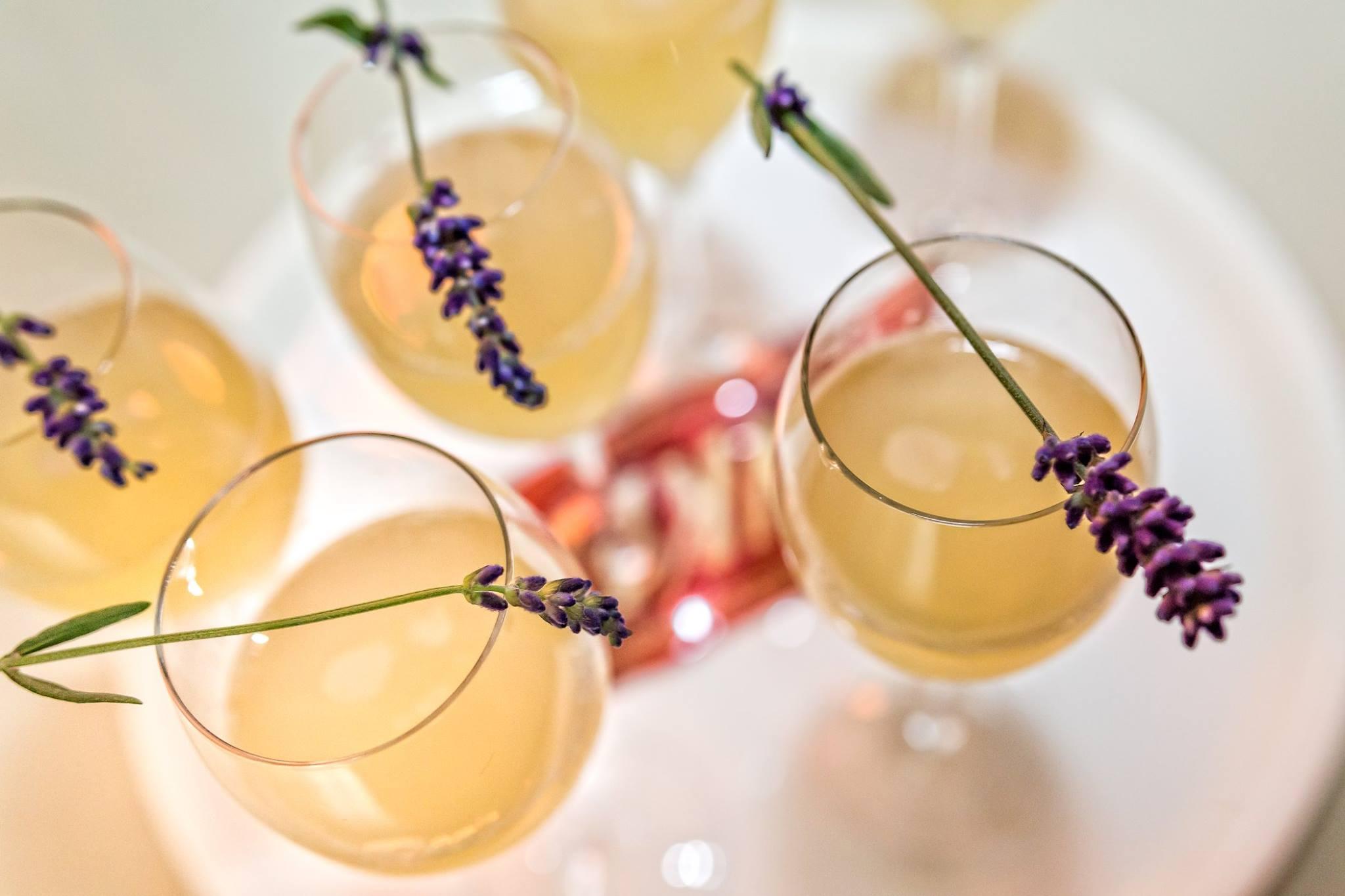 Blogger Dinner 2017 - Lavendel-Sekt