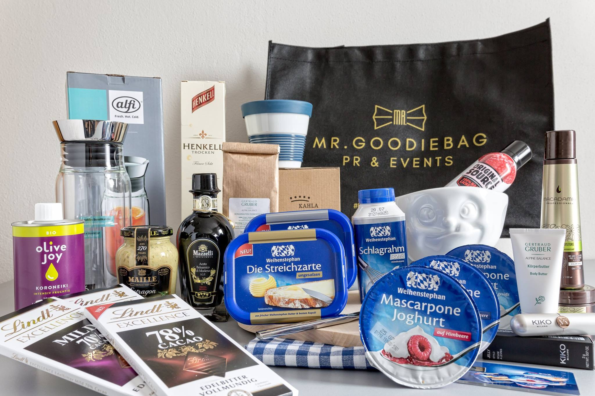 Goodie bag by Mr. Experience - Blogger Dinner 2017