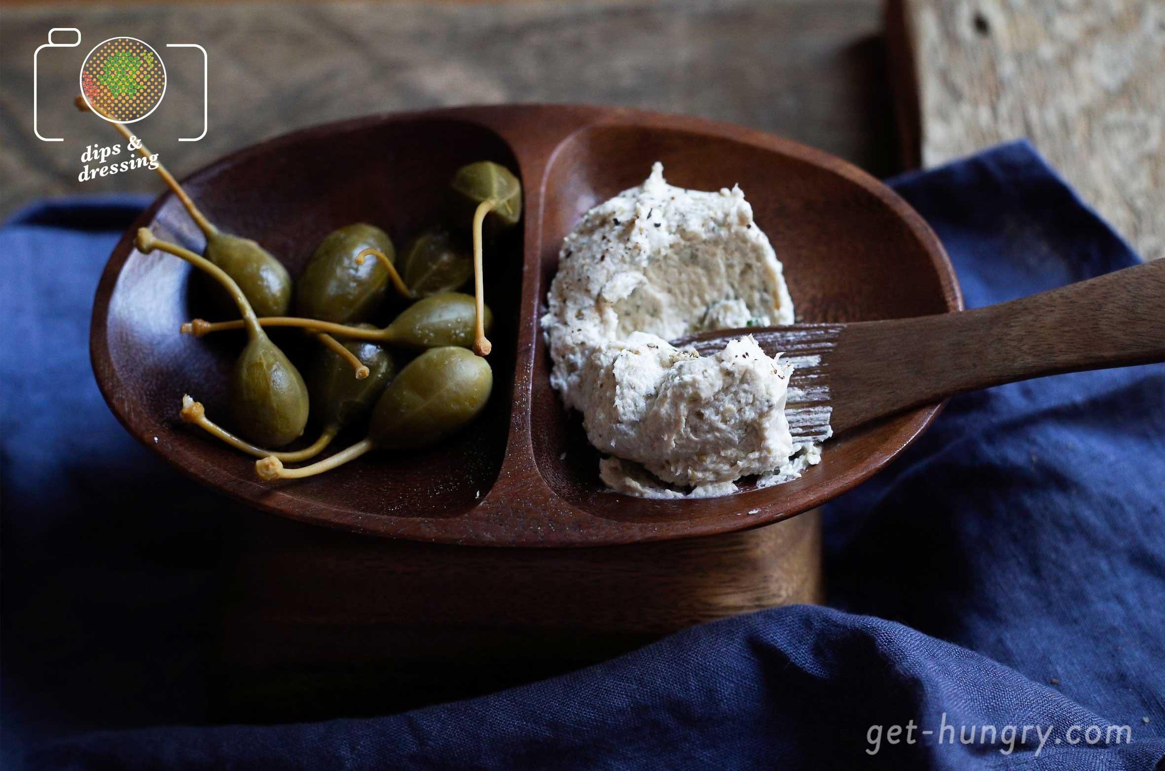 Luftige Thunfisch-Kapern-Butter mit nur drei Zutaten