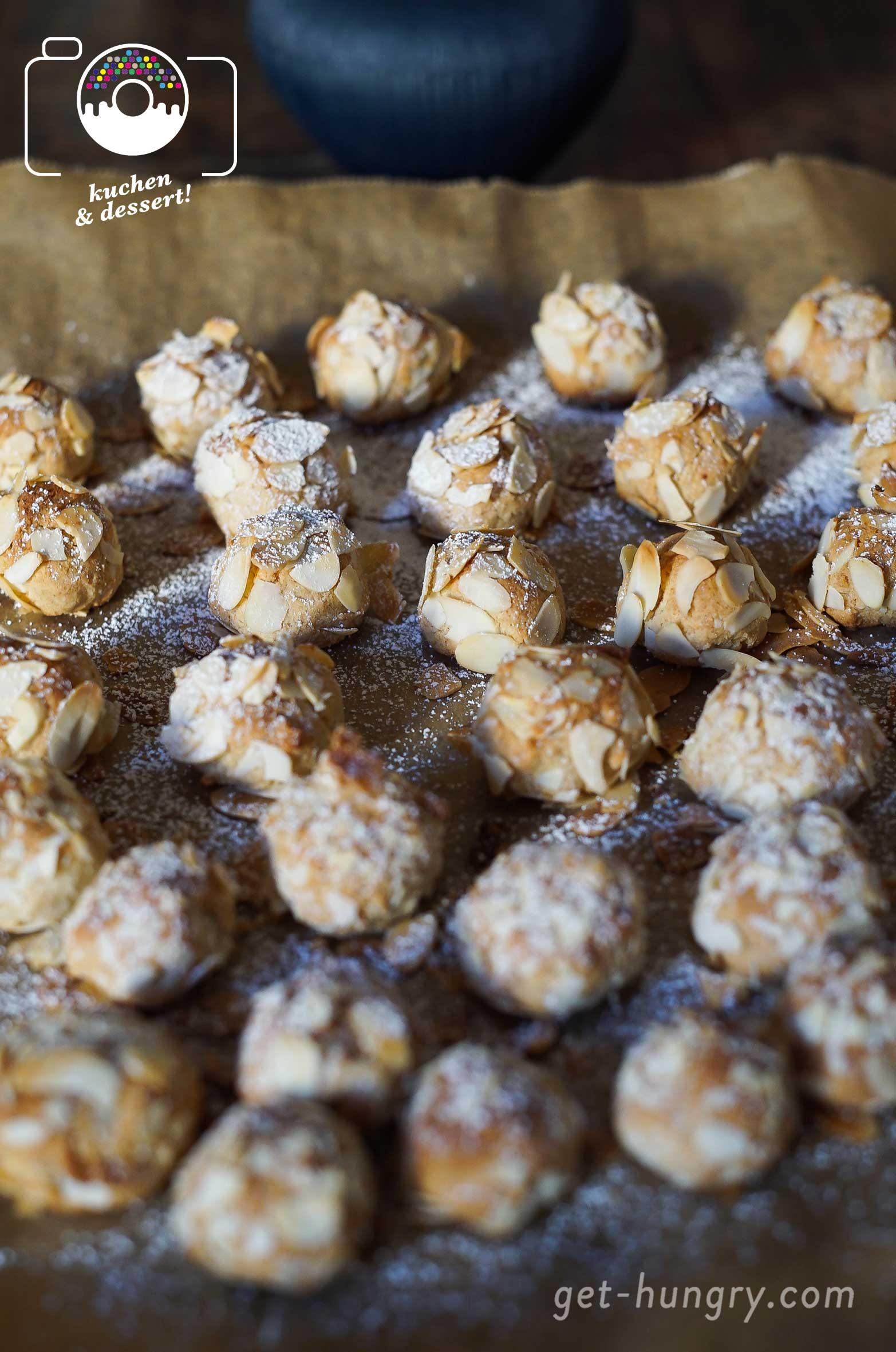 Mandelaroma satt - Italienisches Keksgeflüster mit Mandorlini-Kugeln