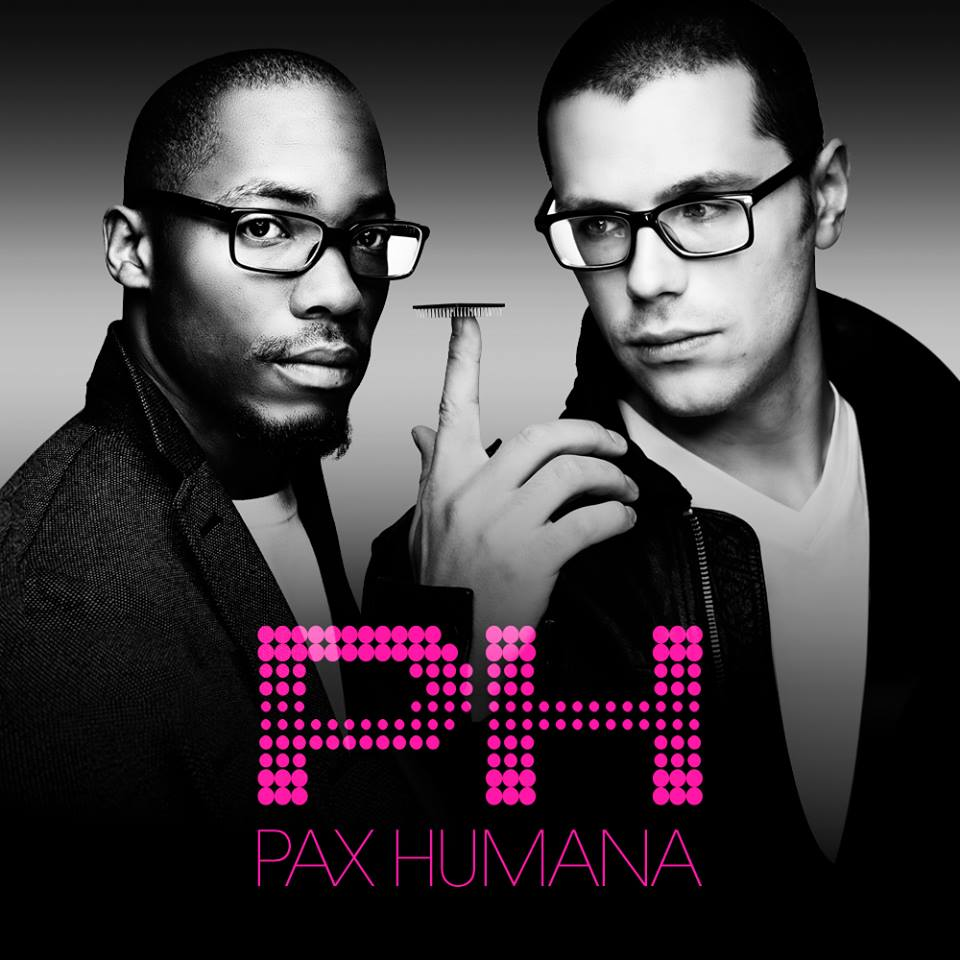 Photo by John Midgley   PAX HUMANA  (Musicians)  Electronic production & performance duo, Pax Humana concocted by Brian Lindgren and Samir Zarif.  Brian Lindgren originally from Upstate New York, graduated from the Eastman School of Music with a degree in Viola Performance studying under John Graham. There he discovered electronic music through his friends and furthered his studies with Alan Schindler at the Eastman Computer Music Center. In 2006, he moved to New York City to pursue his career as a musician. He first freelanced as a violist and violinist performing and recording with many groups and artists including Alarm Will Sound and Tyondai Braxton. He has also performed abroad in Italy, Austria and England. Besides performing, he was on the music faculty at City and Country School (2009-2013) where he also started an electronic music composition program. After being selected to participate in the Vox Novus 60x60 project (2009, 2010), his compositions were performed abroad in England, Ireland, Germany, Romania and Argentina. He has also been commissioned to compose music for art exhibitions featuring Brian Reed and Anton Kandinsky. He primarily focuses now on his electronic music duo, Pax Humana, with Samir Zarif. This has brought him to collaborate with many artists of diverse backgrounds.  Samir Zarif originally from Houston, TX, moved to New Orleans to study jazz performance & composition at the University of New Orleans (UNO) with film-scorer, Terrance Blanchard. In 2004, he migrated to New York attending the Manhattan School of Music (MSM) as a graduate student of Jazz Studies and saxophone performance. He then quickly integrated himself into the music scene as a saxophonist touring throughout the United States, Canada & Europe in many noted bands and ensembles such as Miguel Zenon's Identities Big Band, the Hans Glawischnig Trio, Soulful Symphony and the Ric Molina Group performing at world-renowned venues and halls such as Carnegie Hall (NYC) and Bimhuis