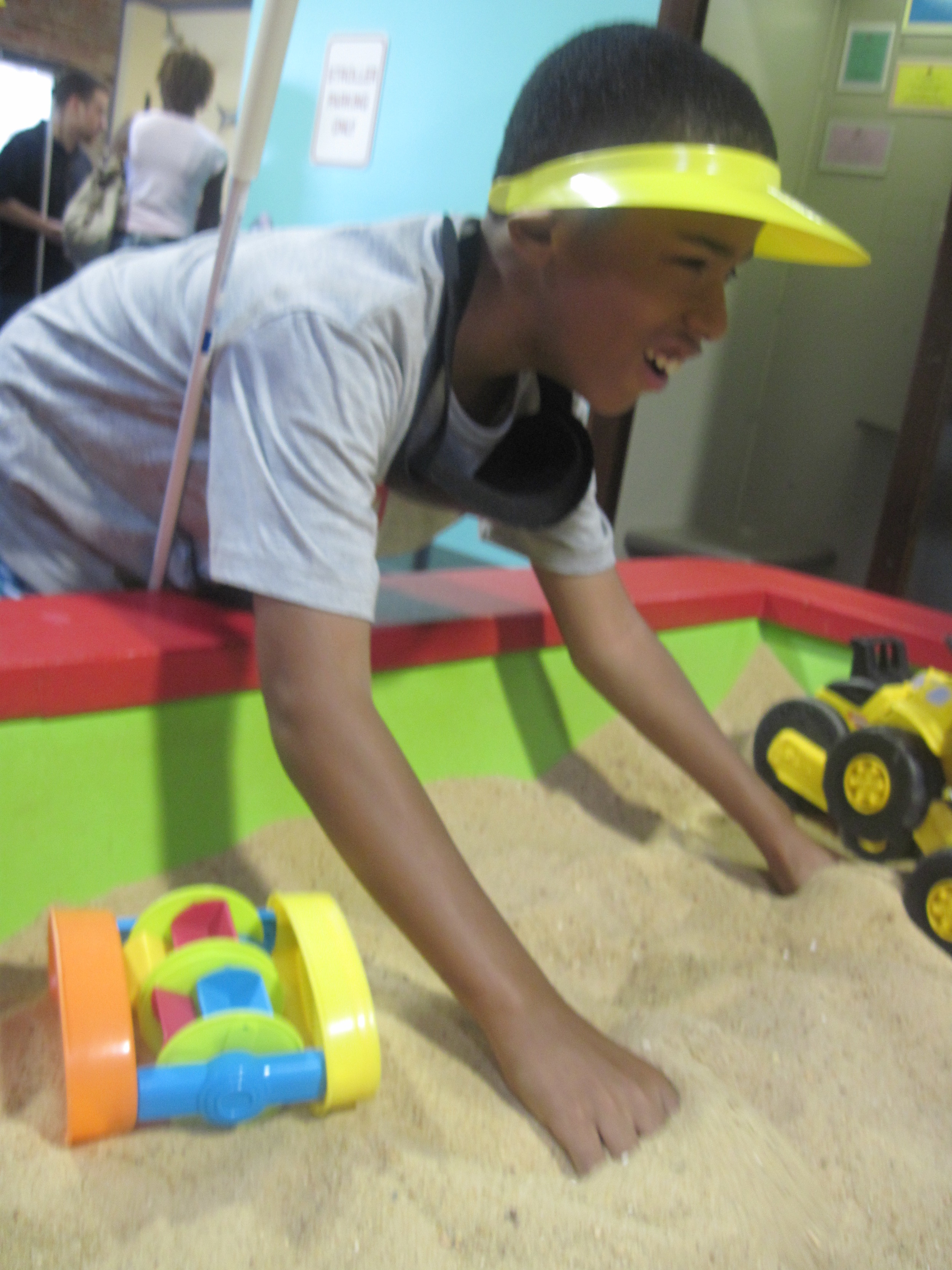 Sandbox exploration