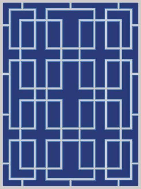LATTICE in Indigo