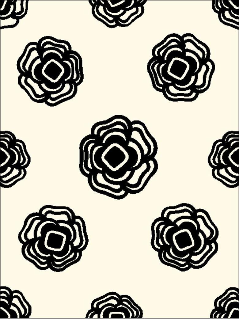 ROSIE BLOOMS in Black & White
