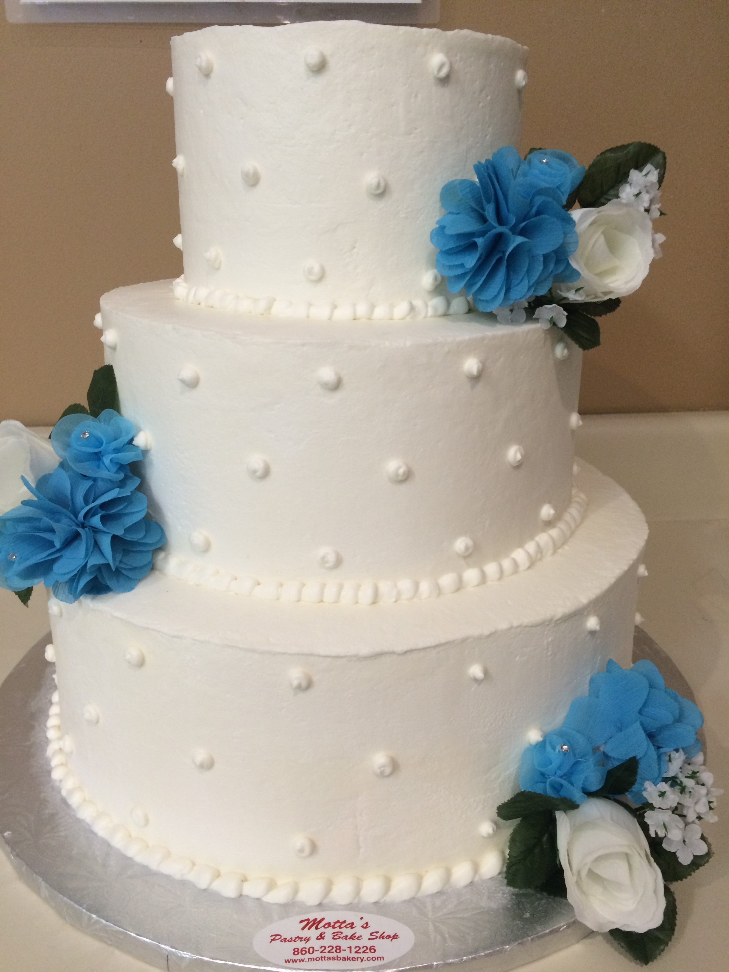 White Wedding Cake.JPG