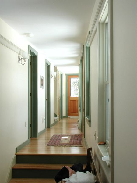Mountian Farmhouse Hallway to the bedrooms.jpg
