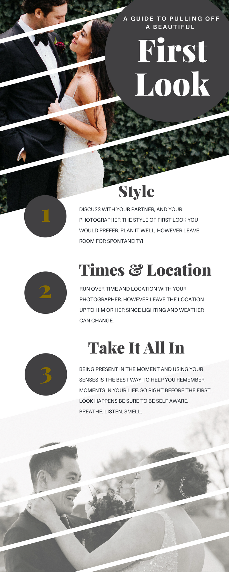 A Guide To Pulling Off A Beautiful First Look - Click the download button below to download the cheat sheet.