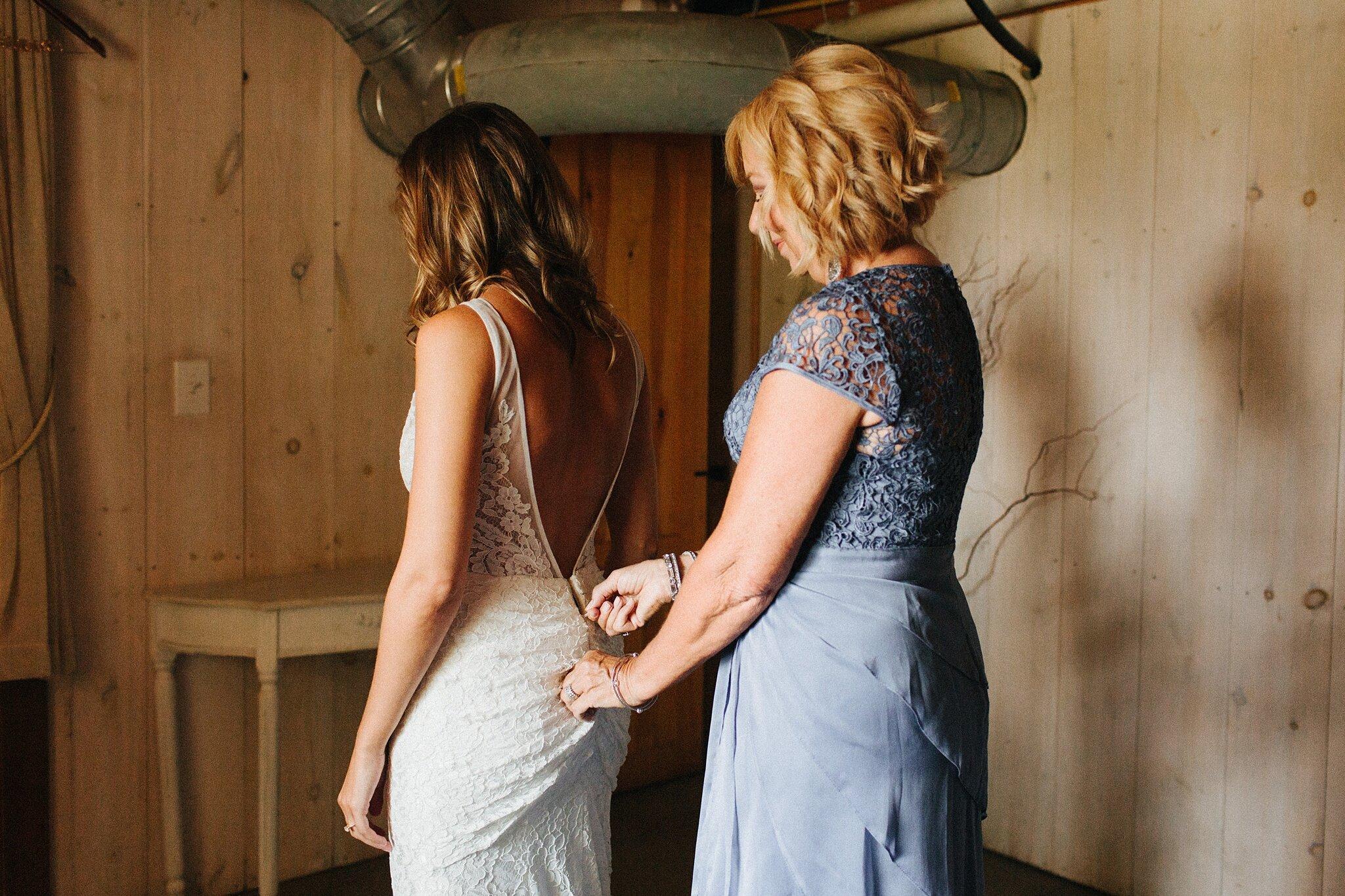 rose bank winery summer wedding