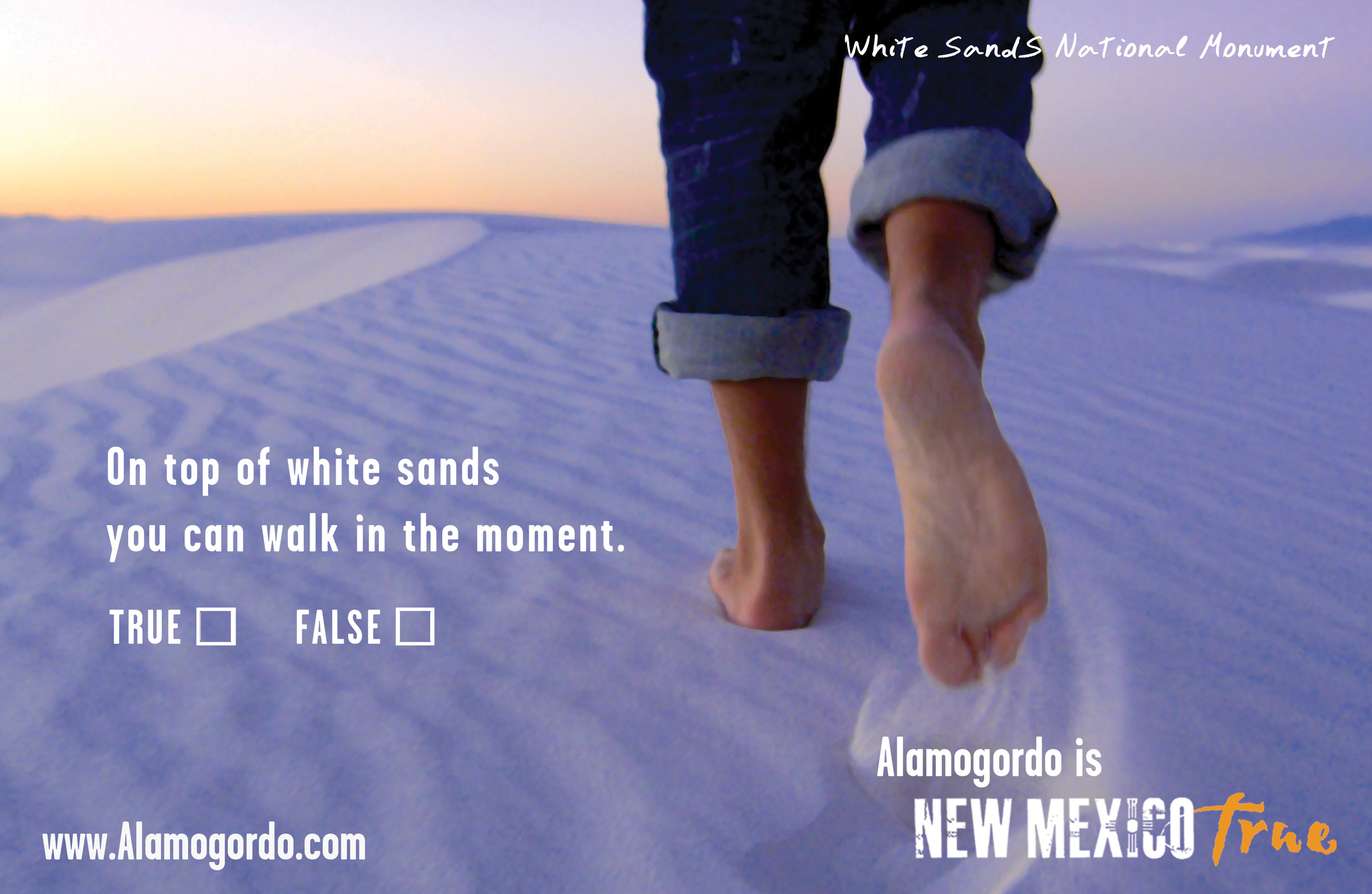 White Sands National Monument Ad
