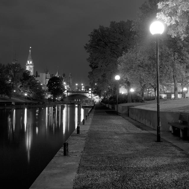 Night walk Rideau Canal