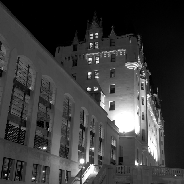 Chateau Laurier night 3