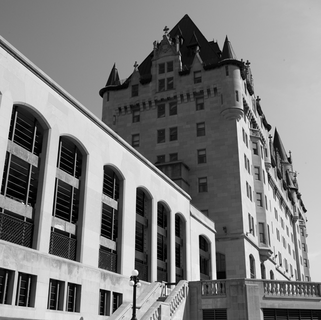 Chateau Laurier day