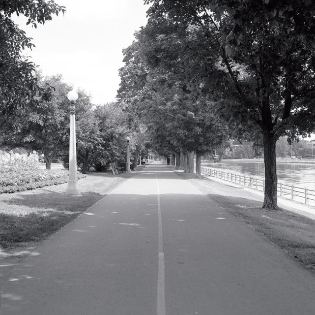 Bike path Rideau Canal