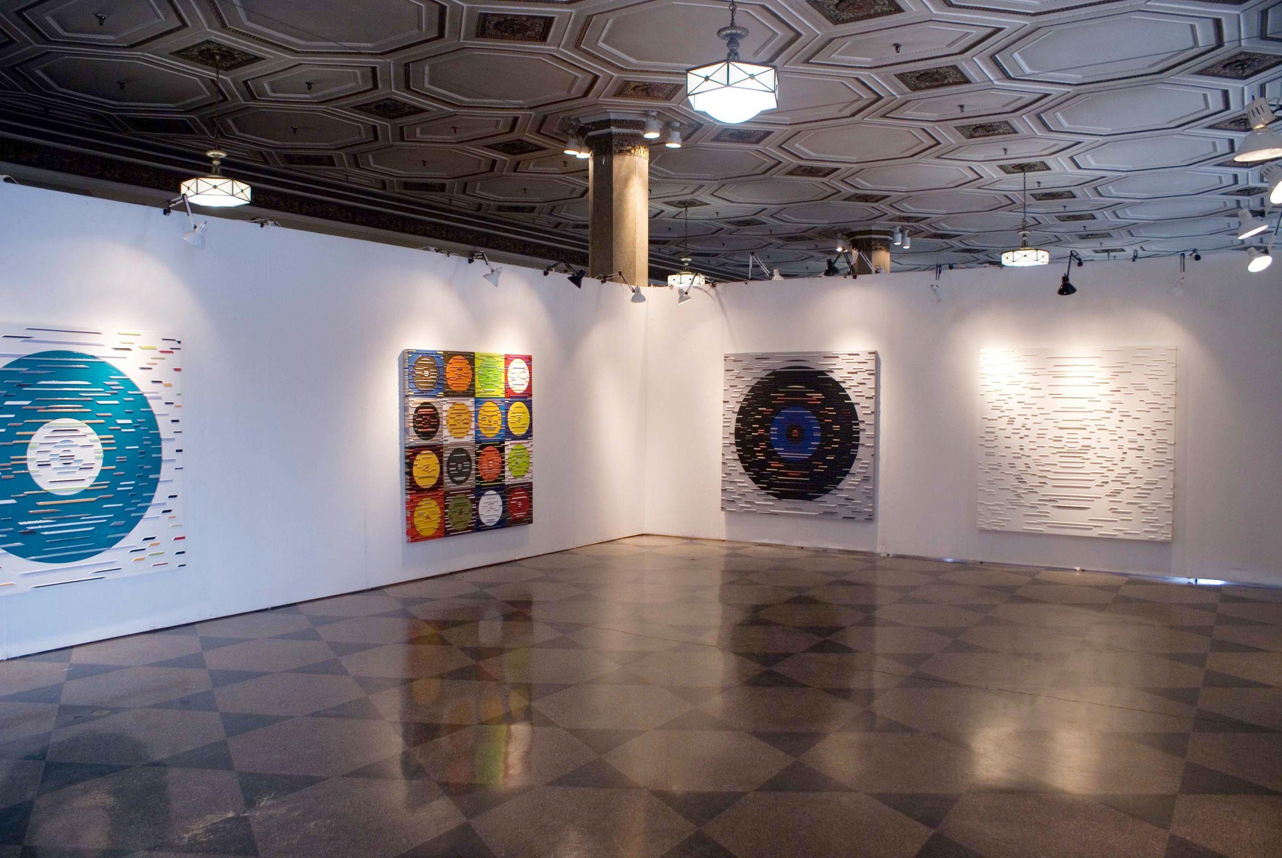 MFA Thesis installation, 808 Gallery, Boston