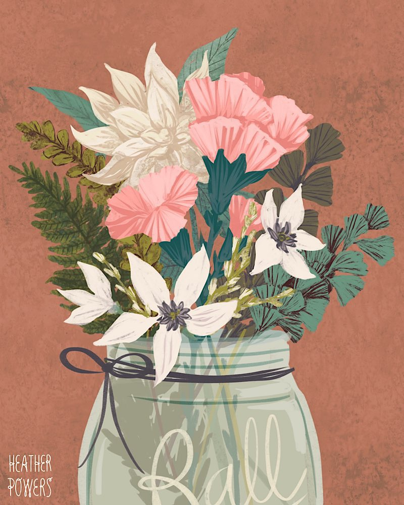 Florals Nature Heather Powers Art