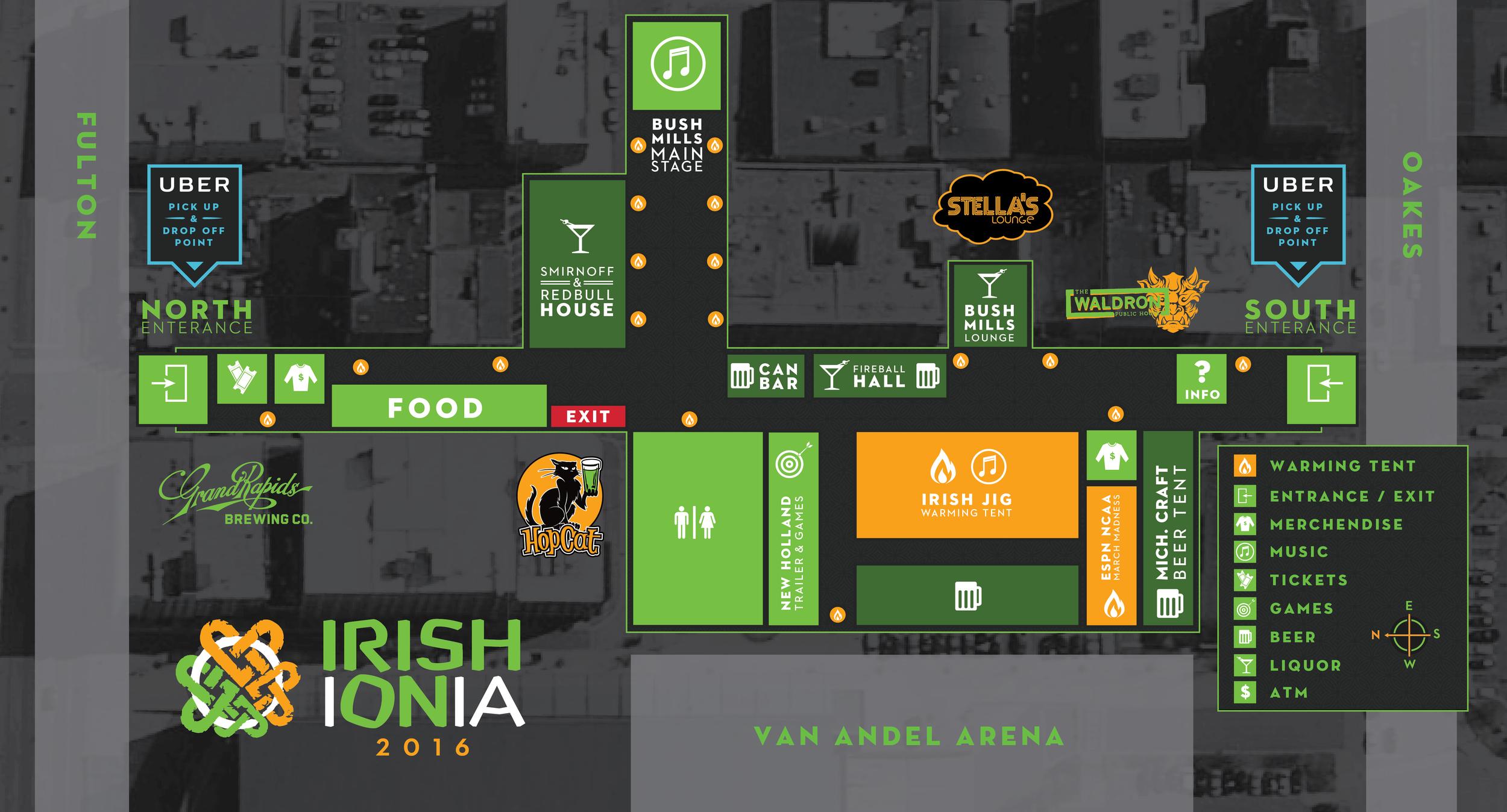 Irish On Ionia Map 2016