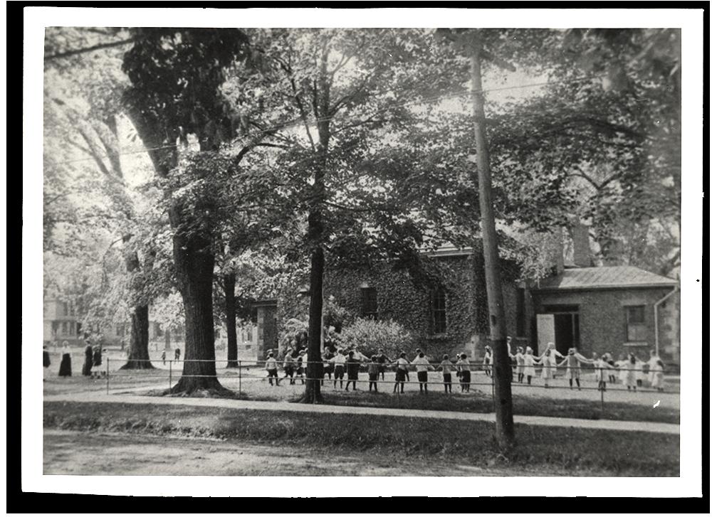 District #5 School House Circa 1900.