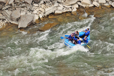 White Water Rafting in Letchworth State Park- Credit: Adventure Calls Outfitters (click the image to go to their website!)