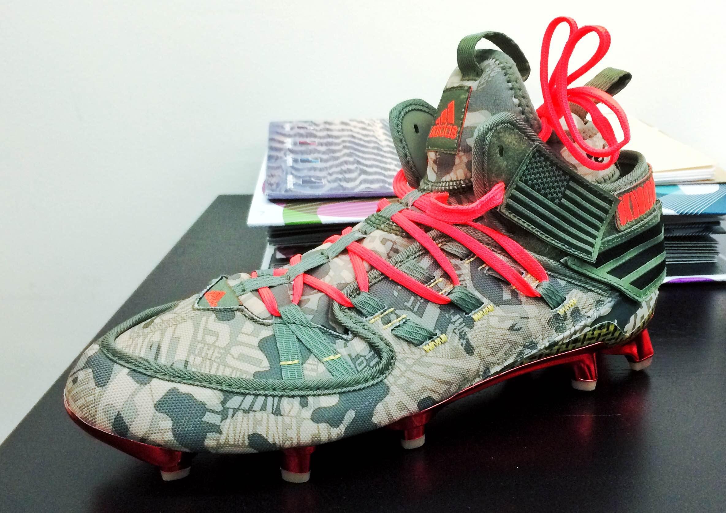 "Brought into the MLAB:  adidas Freak xKevlar® ""Veteran's Day"""