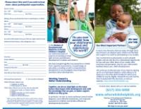 Program brochure for Boston Children's Hospital