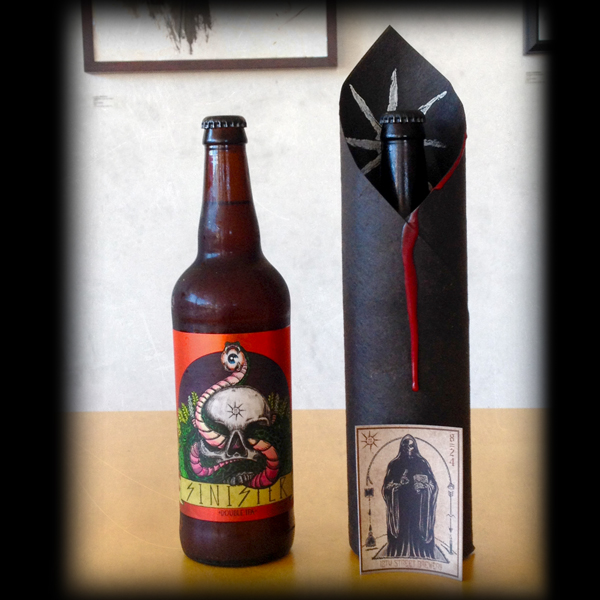 Special hand made packaging for SINISTER. VERY limited quantities.