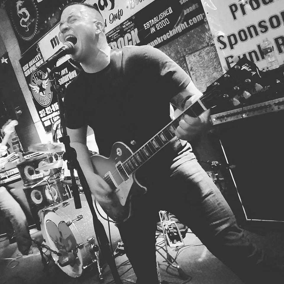 Johnny Hamlin is the frontman of Chicago punks, Lights Over Bridgeport.