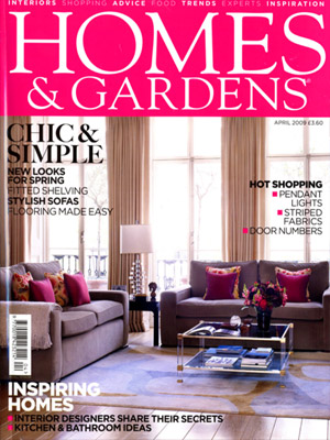 Homes and Gardens (Apr 09)