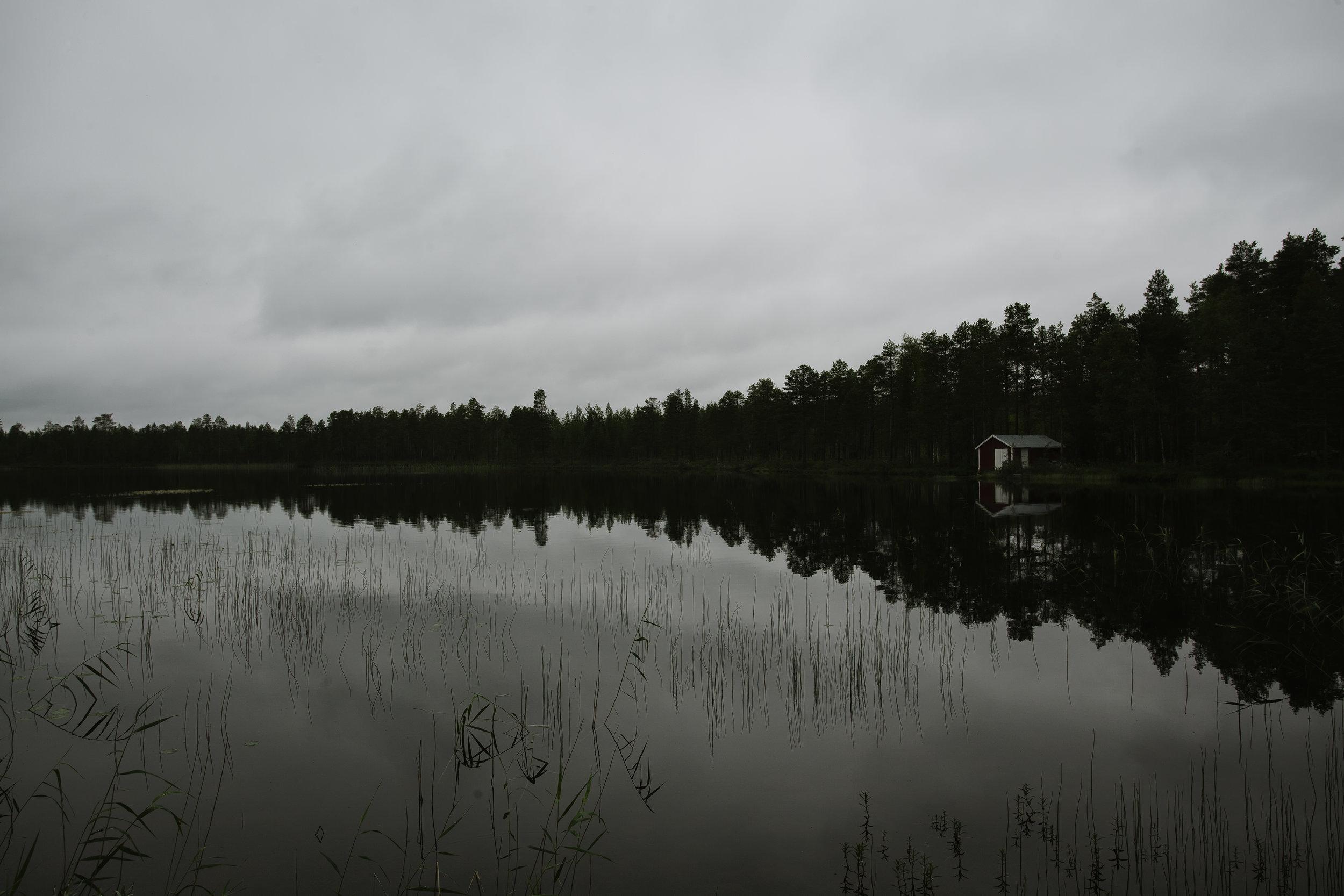 Reflecting Cabin
